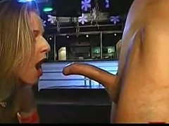 Deep throat blowjob