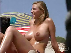 Amateur sex vid made on the beach
