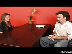midget job interview turns sexual!