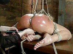 Tied Up pussy tubes