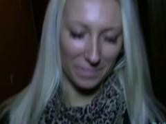 Explosive cock sucking delights from stunning blonde Nella