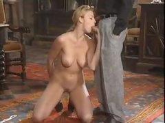 Pretty European girl has hot anal sex