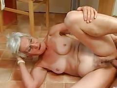 Insatiable Granny Just Loves Jock !