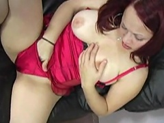 In her vicious, perverted lingerie, her this babe comes and she's absolutely...