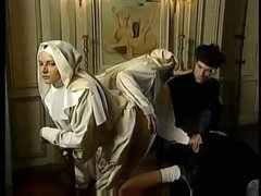 Perverted scene with nuns fisting fantastically